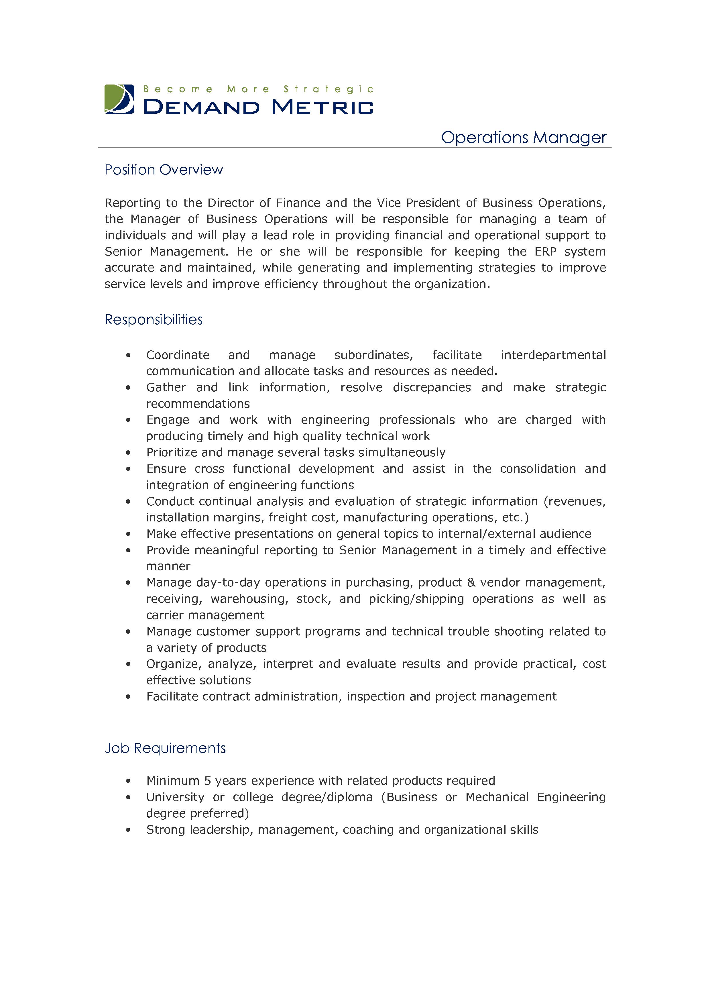 project coordinator description image search results